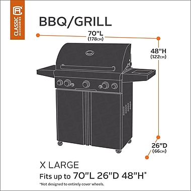 Classic Accessories Classic BBQ Grill Cover; X-Large