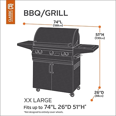 Classic Accessories Classic BBQ Grill Cover; XX-Large