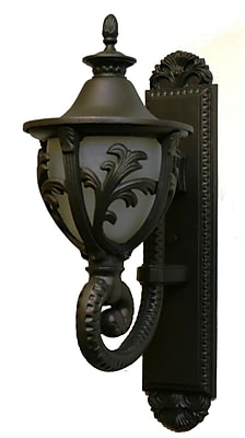 Melissa Tuscany 1-Light Outdoor Sconce; Old World