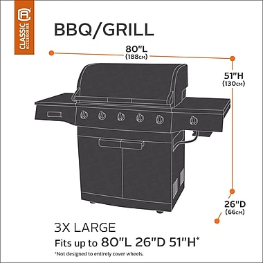 Classic Accessories Classic BBQ Grill Cover; XXX-Large