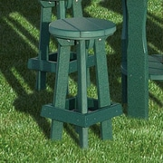 Little Cottage Company Heritage 26'' Bar Stool; Tropical Lime Green
