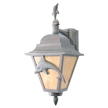 Melissa Americana 1-Light Outdoor Wall Lantern; Old World