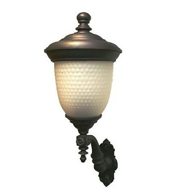 Melissa Tuscany 3-Light Outdoor Sconce; Architectural Bronze