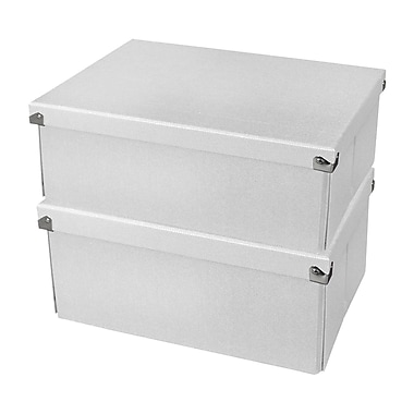 Pop N Store Medium Document Box, 2/Pack (PNS04LSWE2)
