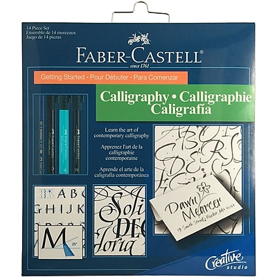 Faber-Castell 800078T Getting Started Calligraphy Kit