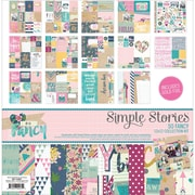 """Simple Stories Simple Stories Collection Kit, So Fancy, 12""""X12"""" (SOF6400)"""