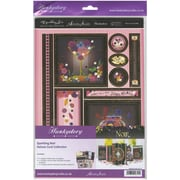 Hunkydory Crafts Deluxe A4 Card Kit, Sparkling Noir (DCC113)