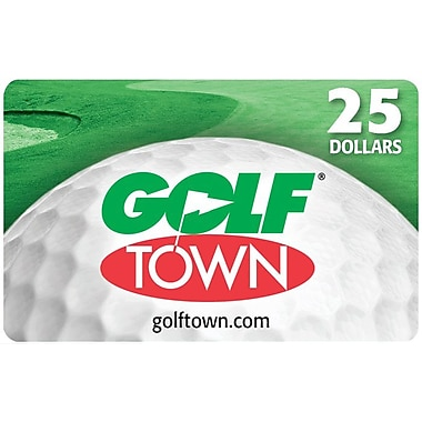 Golf Town $25 Gift Card