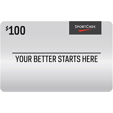 Sport Chek – Carte-cadeau de 100 $
