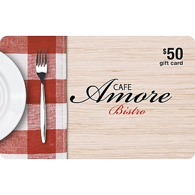 Cafe Amore Bistro $50 Gift Card
