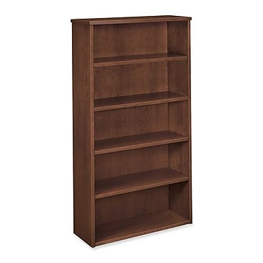 Hon Company 5-Shelf Bookcase, 35-5/8
