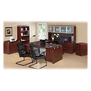 RDC/Lorell Executive Desk, Rectangular, 66