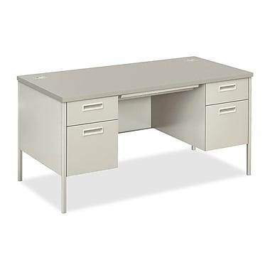 HON Metro Classic Series Double Padestal Desk, 60