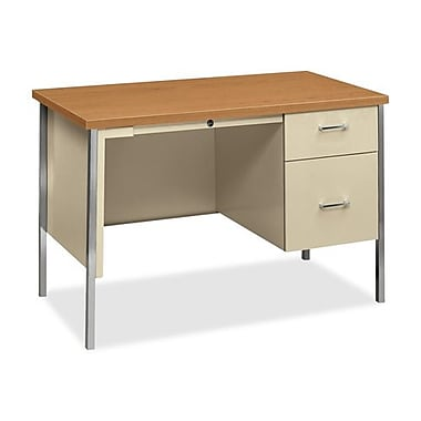 Hon Company Double Ped. Desk, 60