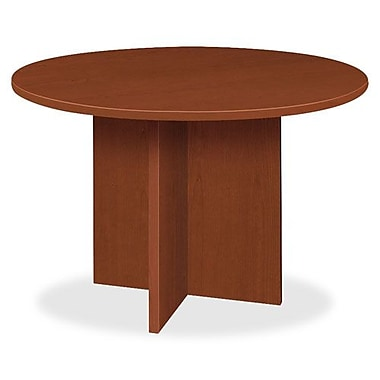 Hon Company Round Conference Table, With x -Base, 48