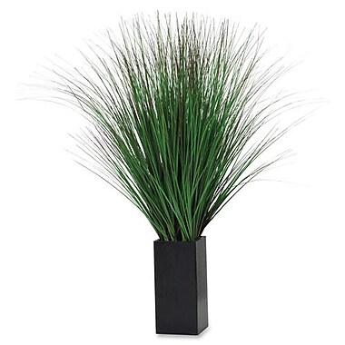 Exponent – Plante décorative avec pot, plante-araignée contemporaine, 20 po, vert