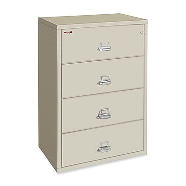 FireKing Insulated File Cabinet, 31.1