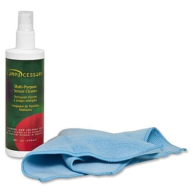 Screen Cleaner Set,Microfibre Cloth,Spray Bottle, No Alcohol