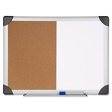 Combo Board, Dry-Erase/Cork, 24