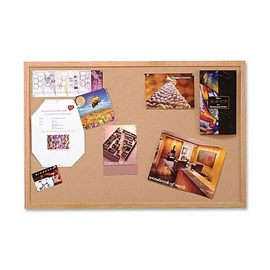 Wood Frame Cork Board, 48
