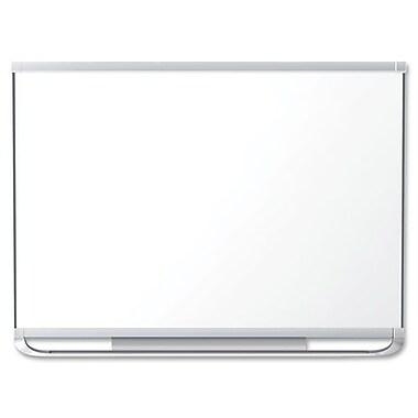 Dry-Erase Board, Porcelain, 4' x 6', Aluminum Frame