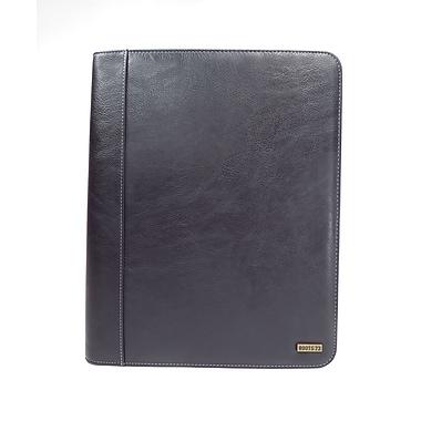 Roots – Porte-documents, fermeture à glissière intégrale, porte-tablette à l'intérieur, noir