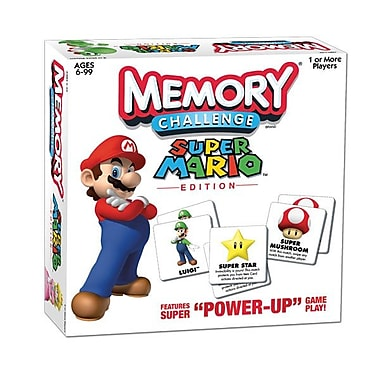 Jeu Memory Challenge, édition Super Mario
