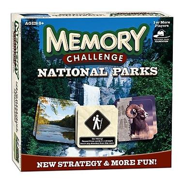 Jeu Memory Challenge, édition Parcs Nationaux