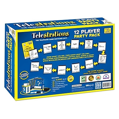 Telestrations The Party Pack, 12 Player