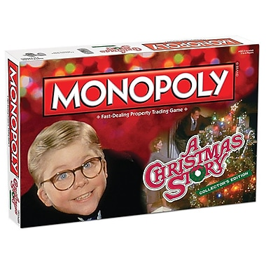 Monopoly A Christmas Story Collector's Edition