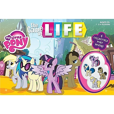 Jeu de société Destins : Le Jeu de la vie, édition My Little Pony