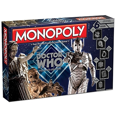 Monopoly Doctor Who Villains Edition