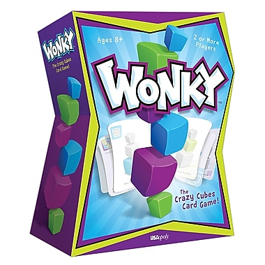 Jeu de cartes Wonky The Crazy Cubes