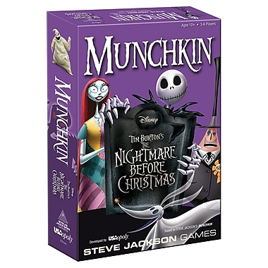 Jeu Munchkin The Nightmare Before Christmas