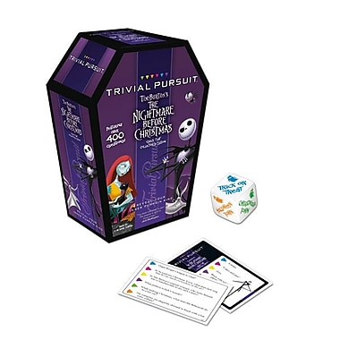 Trivial Pursuit Tim Burton's The Nightmare Before Christmas Quick Play Collector's Edition