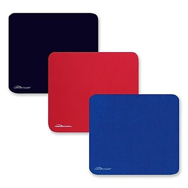 Compucessory Economy Mouse Pad, Nonskid Rubber Base, 9-1/2