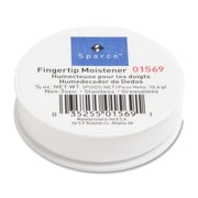 Sparco Fingertip Moistener, Odorless, Greaseless, Hygienic, 3/8 oz.