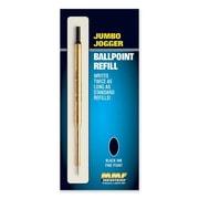 MMF INDUSTRIES Pen Refill, For Jumbo Jogger Ballpoint, Medium, Blue Ink