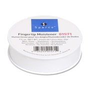 Sparco Fingertip Moistener, Nonskid Back, 1-3/4 oz.