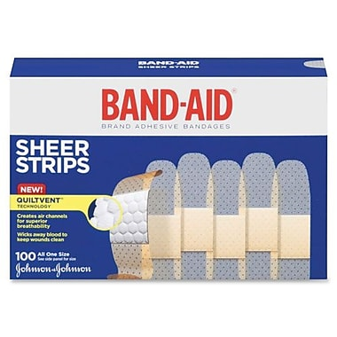 Johnson & Johnson Band-Aid Refill, Adhesive Bandages, One Size, 3/4