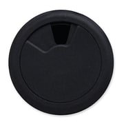 "The Master Caster Company Grommet, 3-1/8"" Diameter, Adjustable Openings, Black"