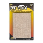 The Master Caster Company Felt Pads, Assorted Combo, Beige, 25/Pack