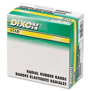 Dixon Rubber Bands, Star, 1/4 Lb., No 72
