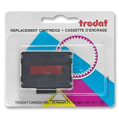 Trodat Ink Pad Refill, for 73958/5030/73841, Blue/Red