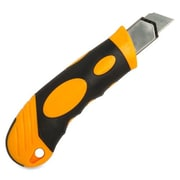 Sparco Automatic Utility Knife, with 4 Blades, Yellow/Black