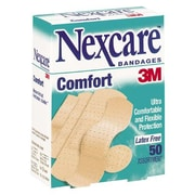 3M Bandages, Comfort Strip, Assorted Sizes, 50 Ct, 50/Pack