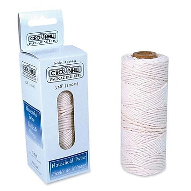 Crownhill Multiuse Twine, Poly/Cotton Blend, 328', White