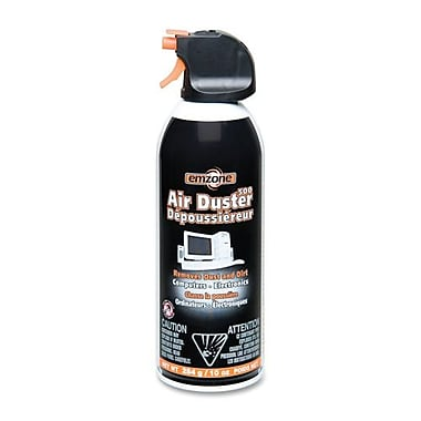Empack - Air comprimé Air Duster 500, mini, 10 oz, noir/orange