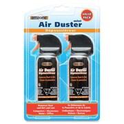 Empack - Air comprimé Air Duster paquet double mini, 3 oz, noir/orange