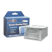 """Empack Anti-Static Screen Cleaning Wipes, 7-1/2"""" x 5"""", White, 50/Pack"""
